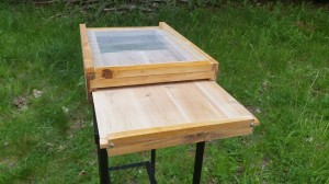 Screened Bottom Board with Slide out Varroa Tray